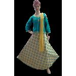 Embroidery cotton  Girls   Lehenga Chunni